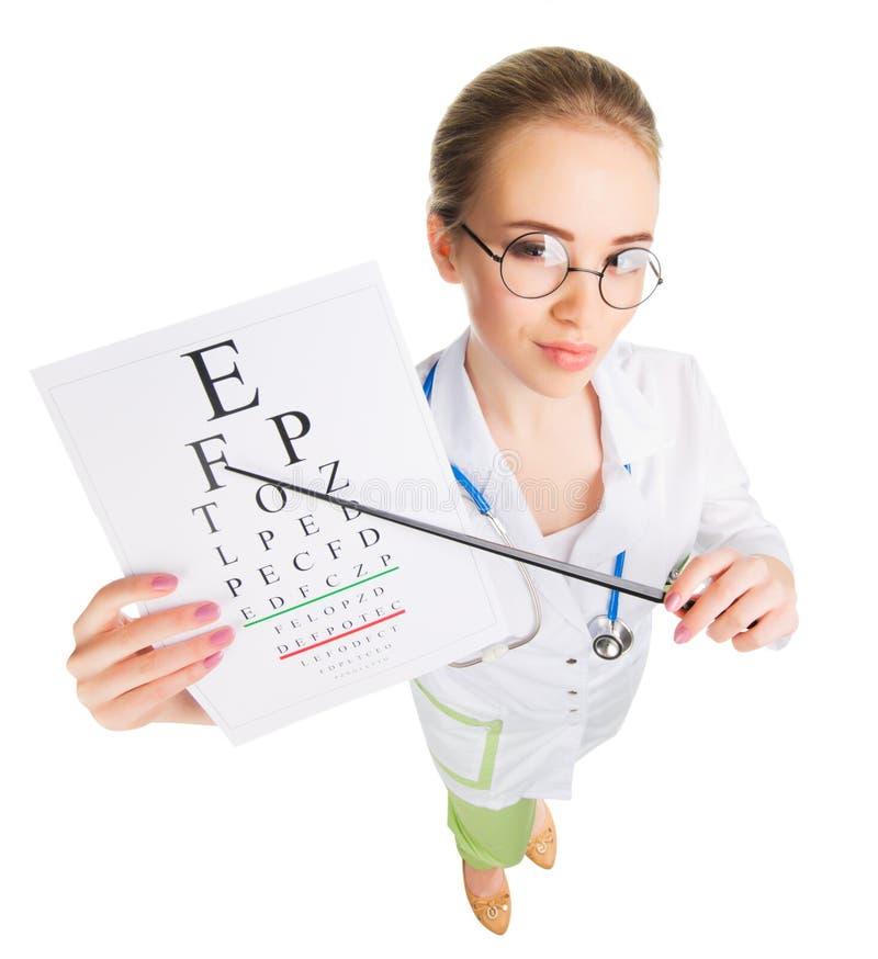 Νέος αστείος γιατρός που απομονώνεται στοκ φωτογραφία με δικαίωμα ελεύθερης χρήσης