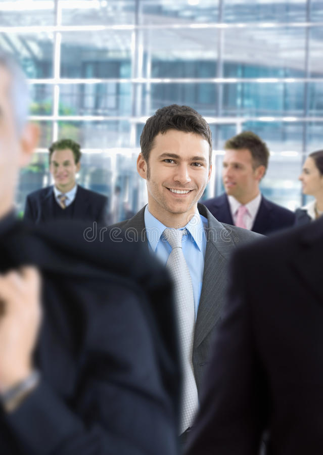Νέος επιχειρηματίας στοκ εικόνες