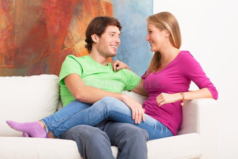 Νέος ευτυχής γάμος στοκ εικόνες