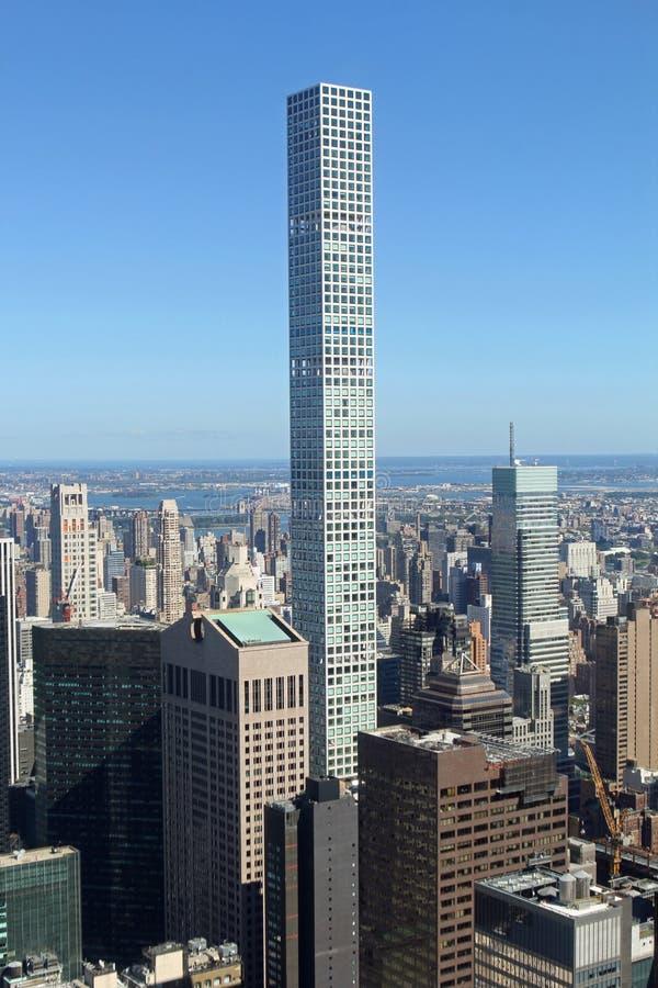 νέος ορίζοντας Υόρκη πόλεων στοκ εικόνα