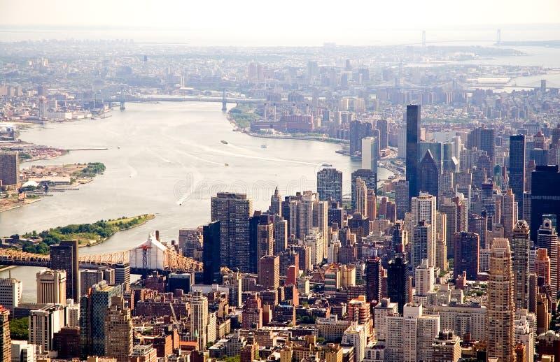 νέος ορίζοντας Υόρκη πόλε&o στοκ εικόνες