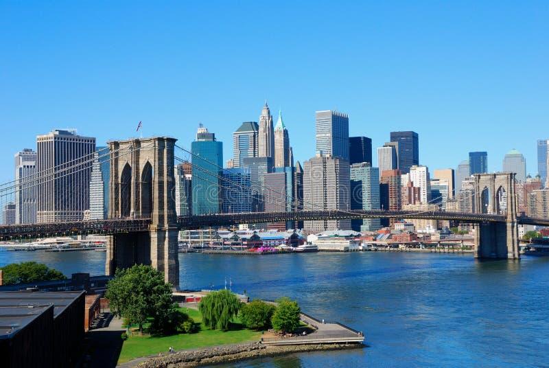 νέος ορίζοντας Υόρκη πόλε&o στοκ εικόνα