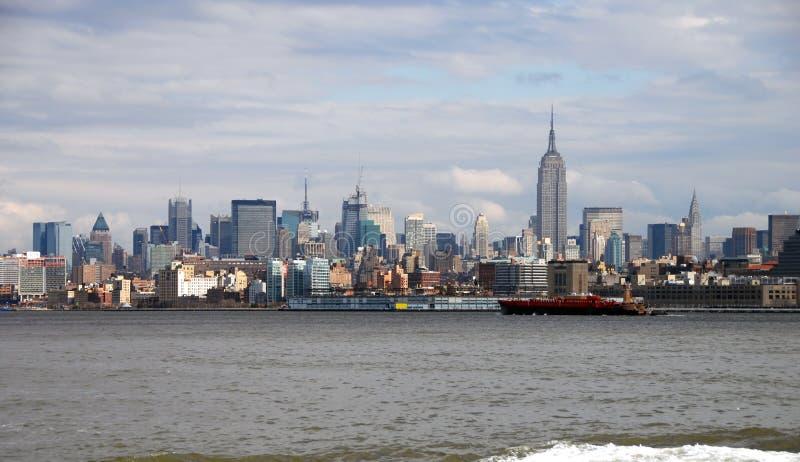 νέος ορίζοντας Υόρκη πόλε&o στοκ φωτογραφίες με δικαίωμα ελεύθερης χρήσης