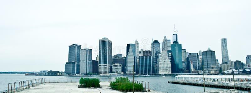 νέος ορίζοντας Υόρκη πόλεων στοκ εικόνες με δικαίωμα ελεύθερης χρήσης