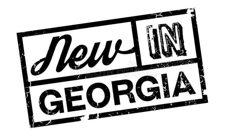 Νέος στη σφραγίδα της Γεωργίας απεικόνιση αποθεμάτων