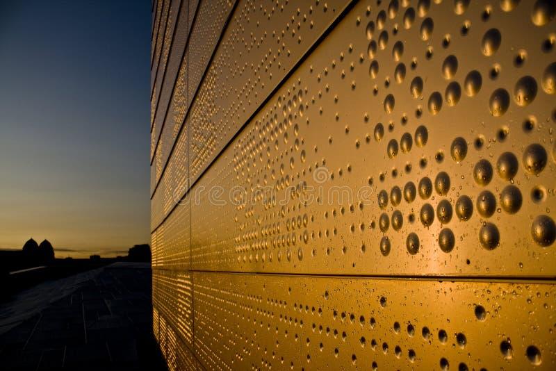 νέος τοίχος προτύπων οπερώ& στοκ φωτογραφία
