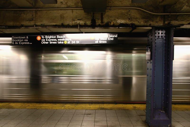 νέος υπόγειος Υόρκη στοκ εικόνες με δικαίωμα ελεύθερης χρήσης