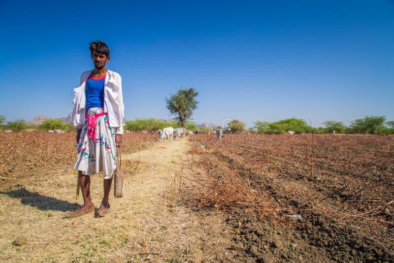 Νέος φυλέτης Rabari στοκ εικόνα με δικαίωμα ελεύθερης χρήσης
