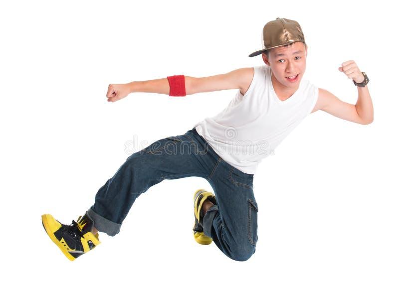 Νέος χορευτής χιπ χοπ στοκ εικόνες