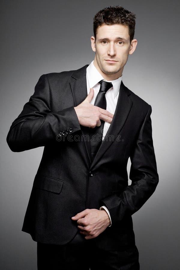 Νέος όμορφος επιχειρηματίας. στοκ εικόνες με δικαίωμα ελεύθερης χρήσης
