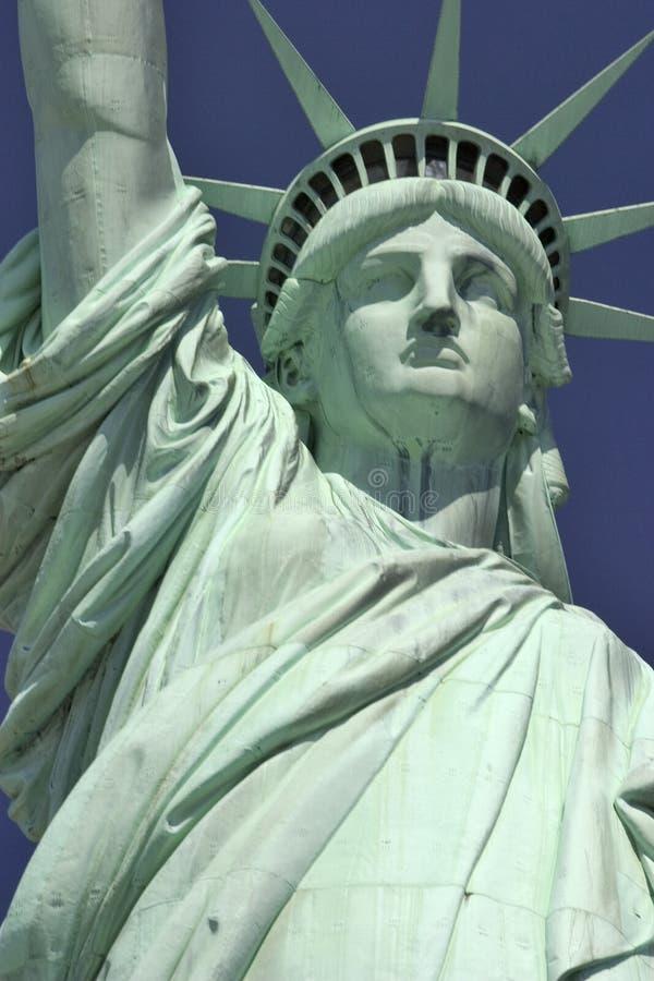 νέο άγαλμα Υόρκη ελευθερίας στοκ φωτογραφία με δικαίωμα ελεύθερης χρήσης