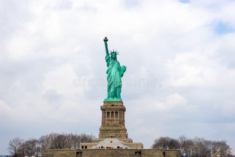 νέο άγαλμα Υόρκη ελευθε& στοκ εικόνες