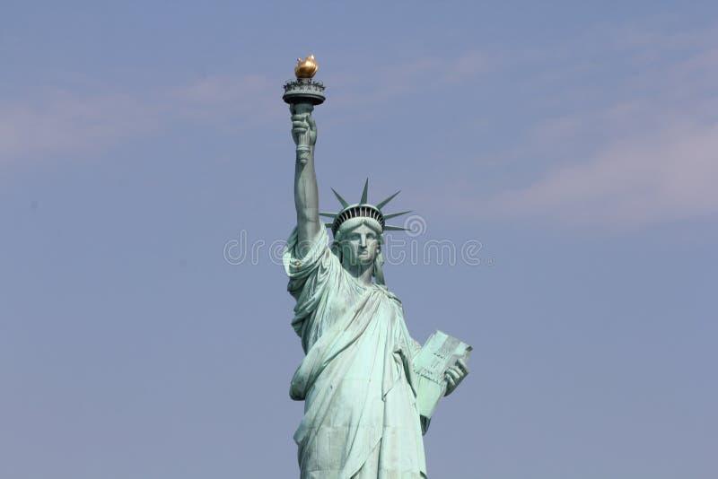 νέο άγαλμα Υόρκη ελευθερίας πόλεων στοκ εικόνες