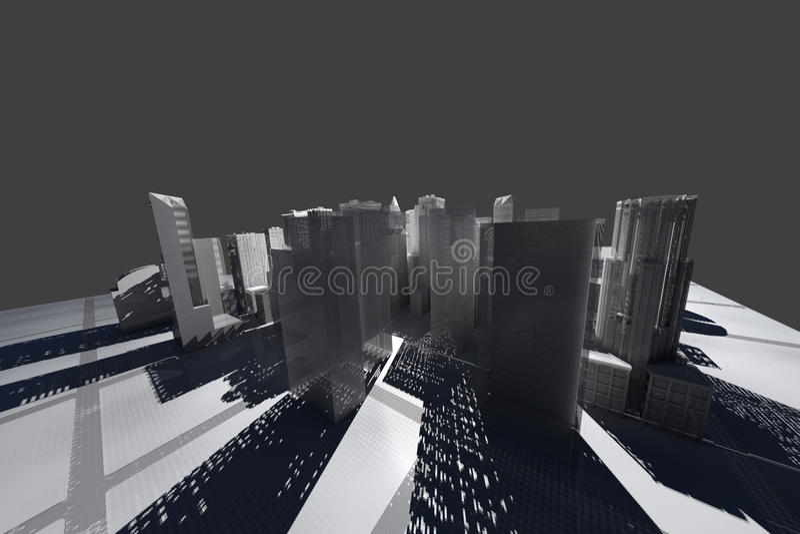 νέο άσπρο καλώδιο Υόρκη πλέ ελεύθερη απεικόνιση δικαιώματος