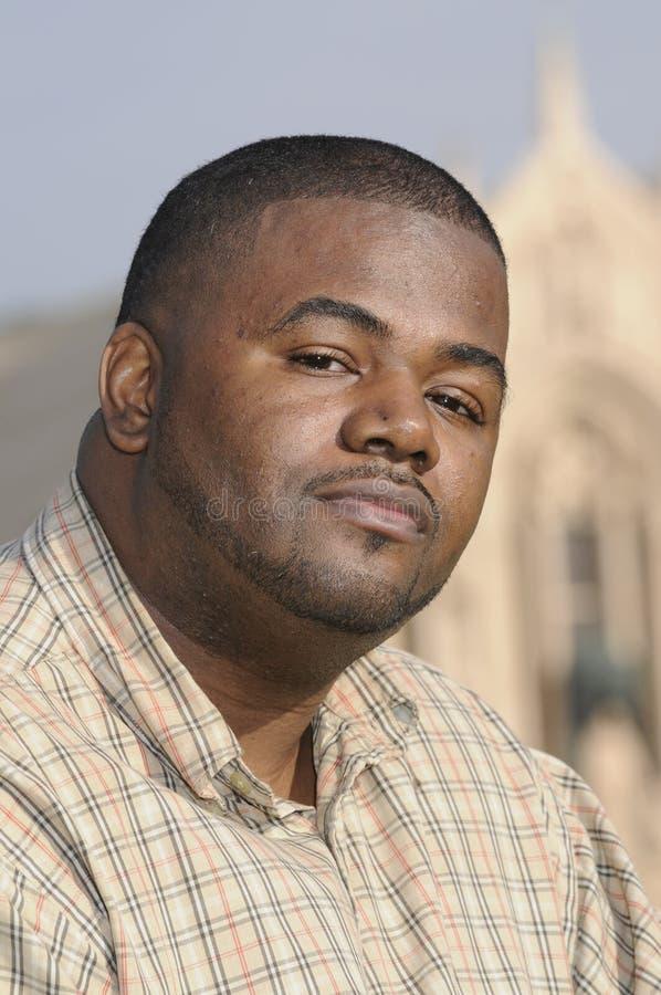 Νέο άτομο αφροαμερικάνων στοκ εικόνες
