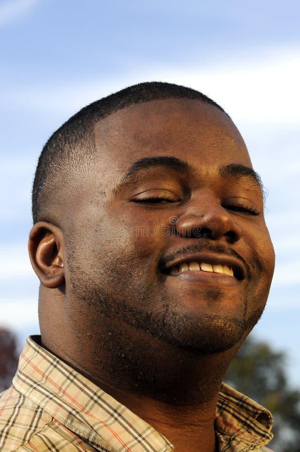 Νέο άτομο αφροαμερικάνων στοκ φωτογραφία