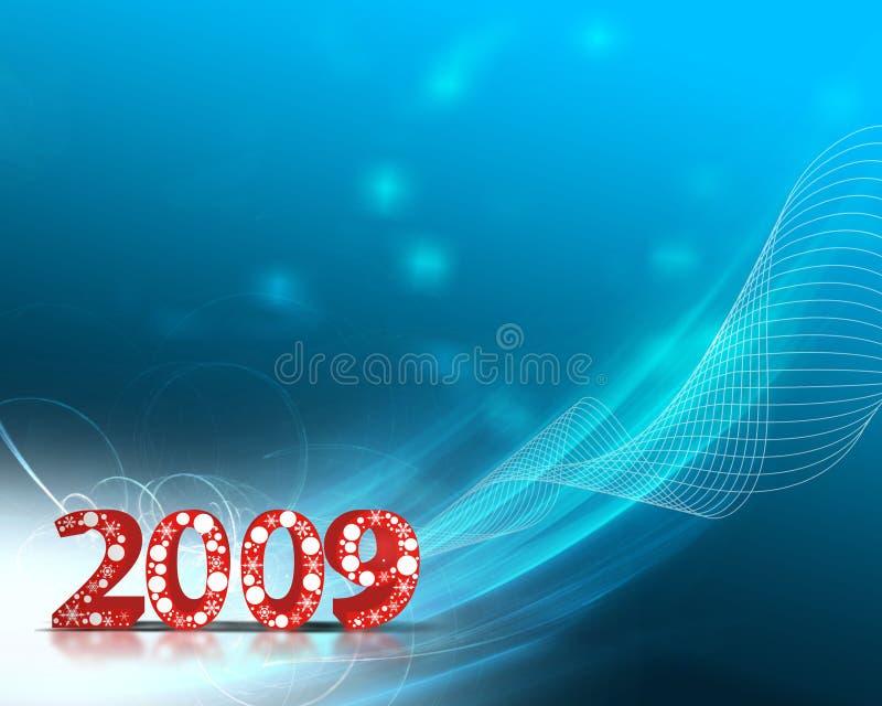 νέο έτος ανασκόπησης διανυσματική απεικόνιση
