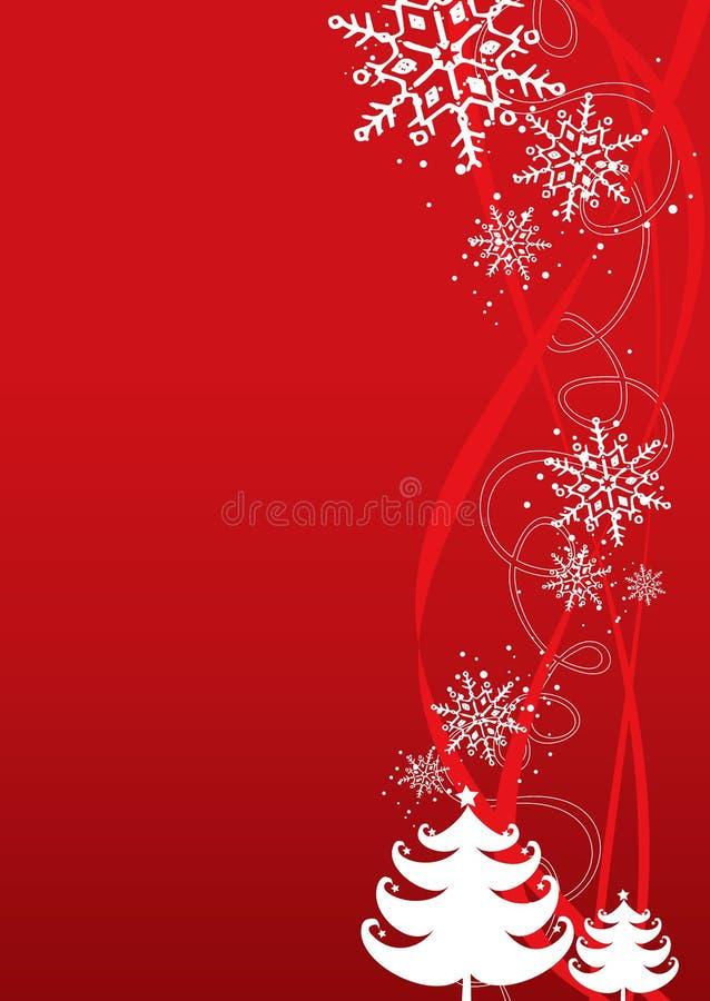 νέο έτος απεικόνισης Χριστουγέννων ανασκόπησης διανυσματική απεικόνιση