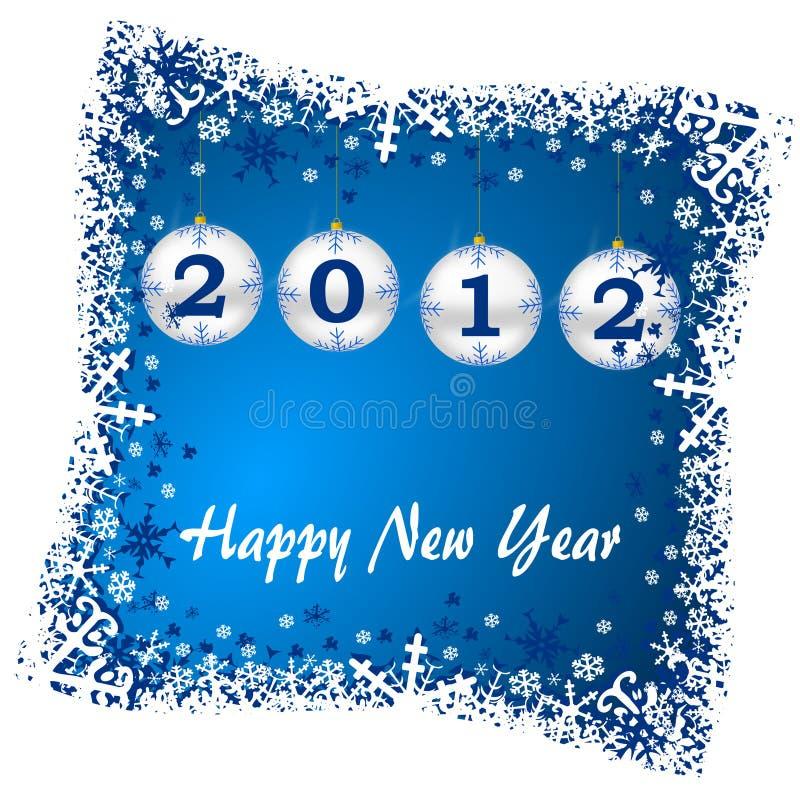 νέο έτος απεικόνισης διανυσματική απεικόνιση