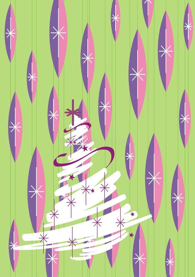 νέο έτος δέντρων του s διανυσματική απεικόνιση