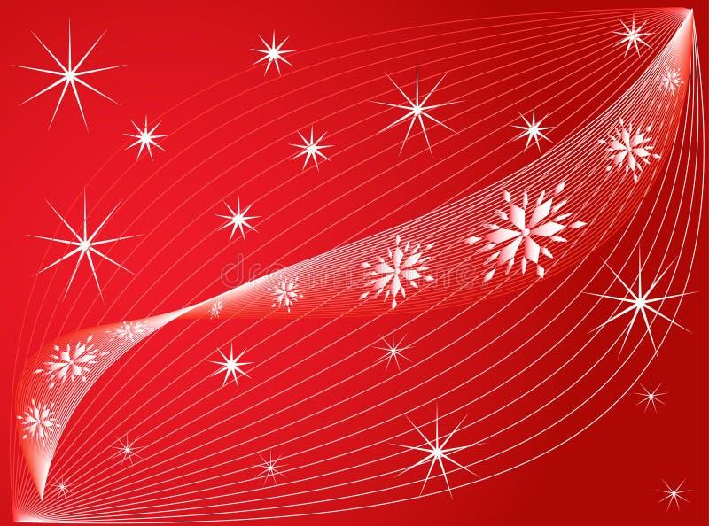 νέο έτος διακοσμήσεων διανυσματική απεικόνιση