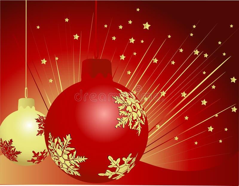 νέο έτος διακοσμήσεων ελεύθερη απεικόνιση δικαιώματος