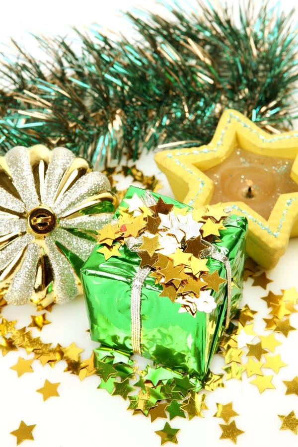 νέο έτος διακοσμήσεων s δώρ στοκ εικόνες με δικαίωμα ελεύθερης χρήσης