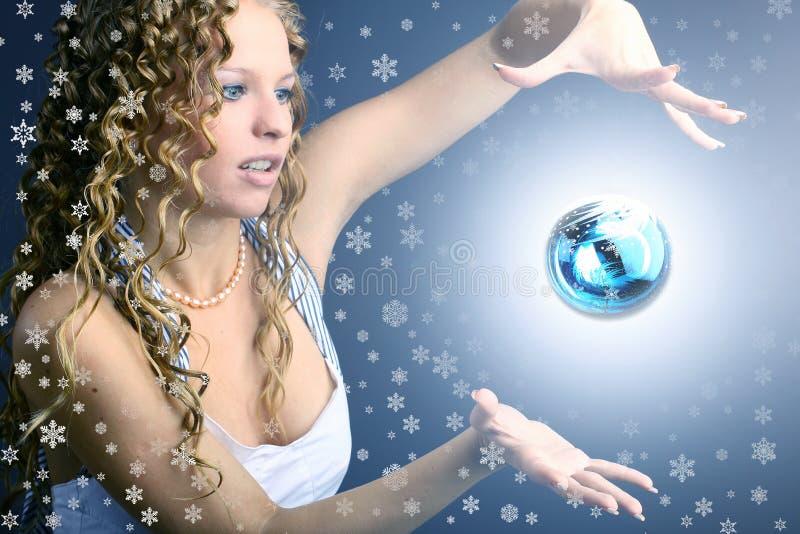 νέο έτος θαύματος στοκ φωτογραφία με δικαίωμα ελεύθερης χρήσης