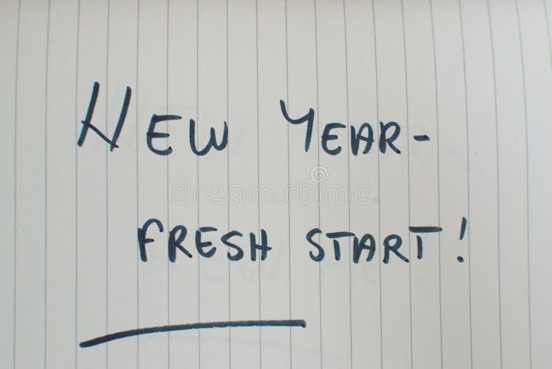 Νέο έτος Νέα Αρχή στοκ εικόνα