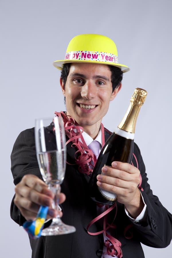 νέο έτος παραμονής εορτα&sigma στοκ εικόνα