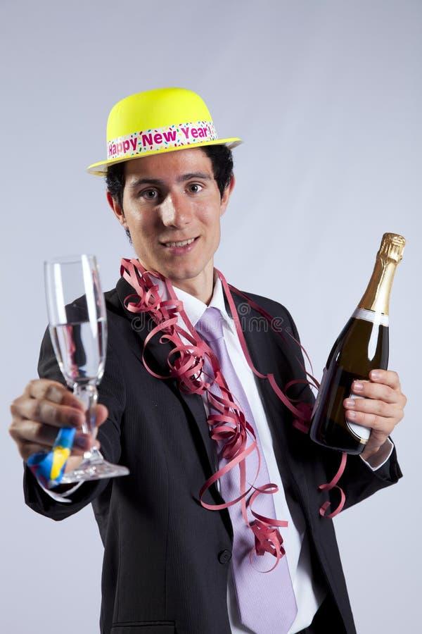 νέο έτος παραμονής εορτα&sigma στοκ εικόνες