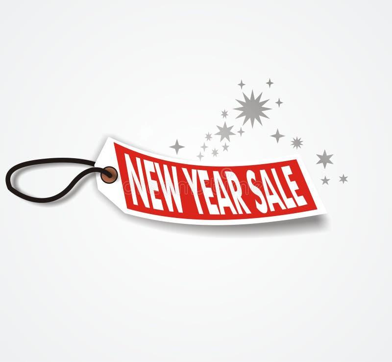 νέο έτος πώλησης διανυσματική απεικόνιση