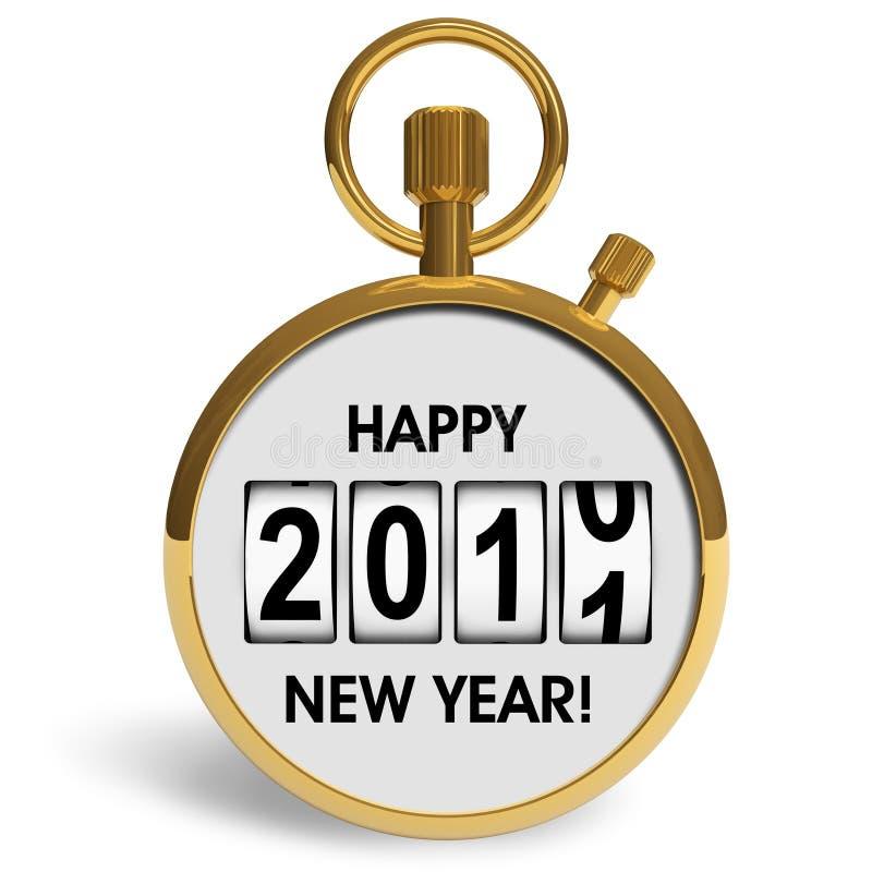 νέο έτος συγχαρητηρίων το&ups ελεύθερη απεικόνιση δικαιώματος
