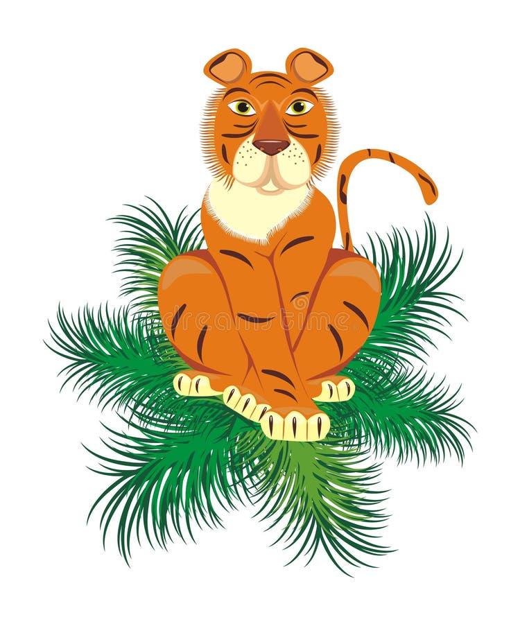 νέο έτος τιγρών στοκ εικόνες