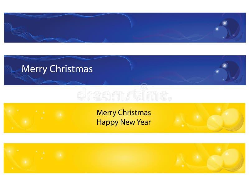 νέο έτος Χριστουγέννων εμ&bet ελεύθερη απεικόνιση δικαιώματος