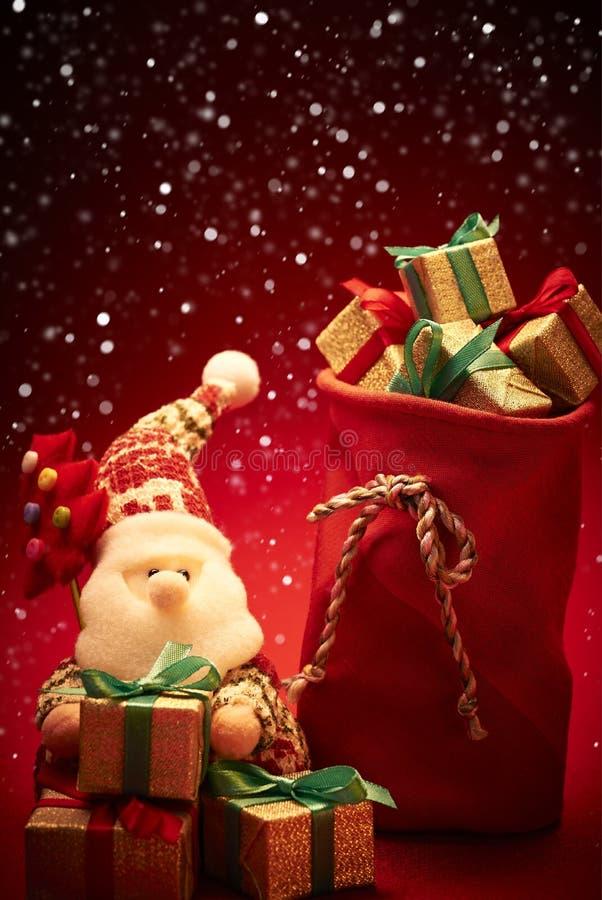 Νέο έτος 2016 Χριστούγεννα εύθυμα Άγιος Βασίλης και στοκ φωτογραφίες με δικαίωμα ελεύθερης χρήσης