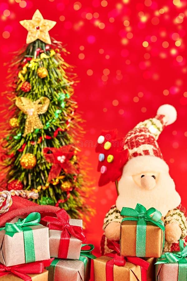 Νέο έτος 2016 Χριστούγεννα εύθυμα Άγιος Βασίλης και στοκ φωτογραφία με δικαίωμα ελεύθερης χρήσης