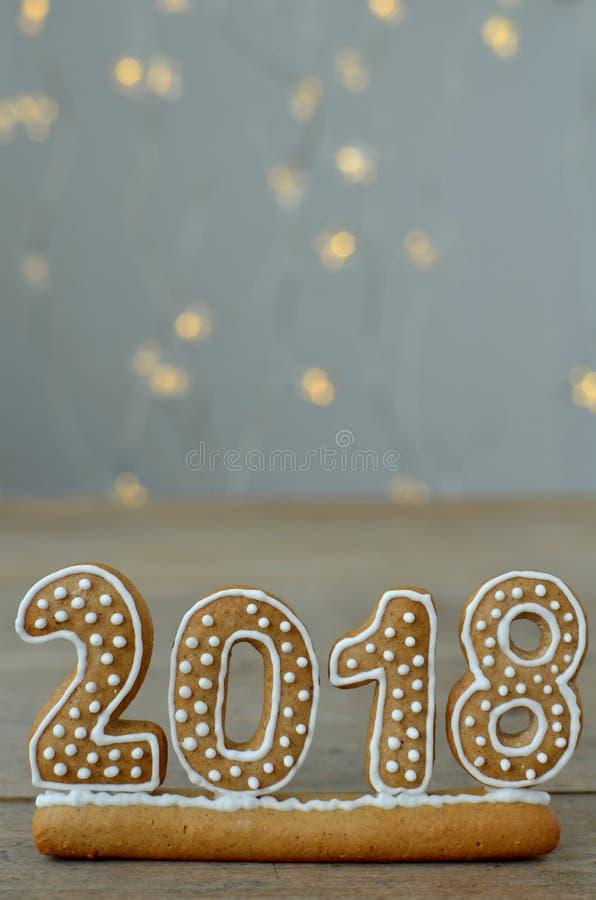Νέο έτος 2018 στοκ εικόνες