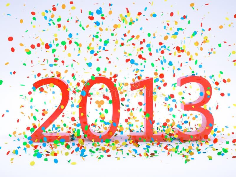 Νέο έτος 2013 Στοκ Φωτογραφία