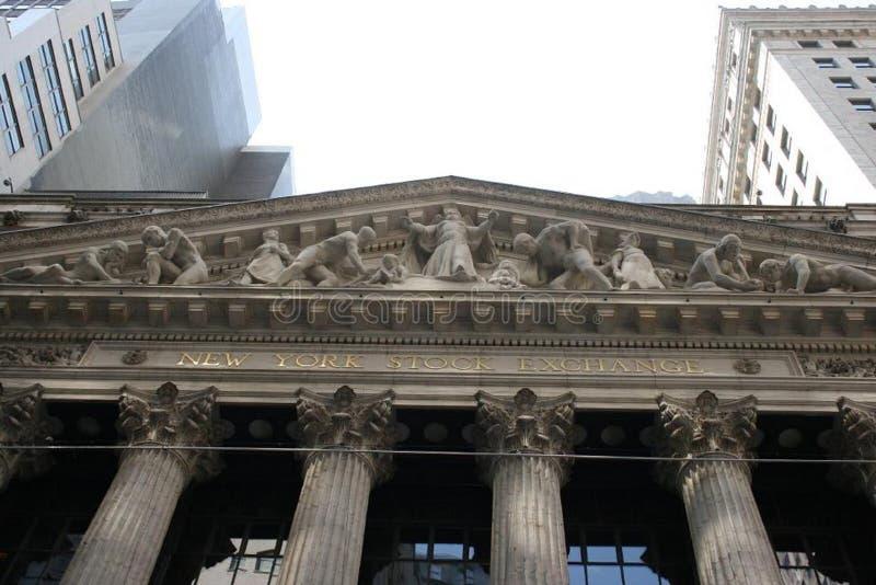 νέο απόθεμα Υόρκη ανταλλα& στοκ φωτογραφία με δικαίωμα ελεύθερης χρήσης