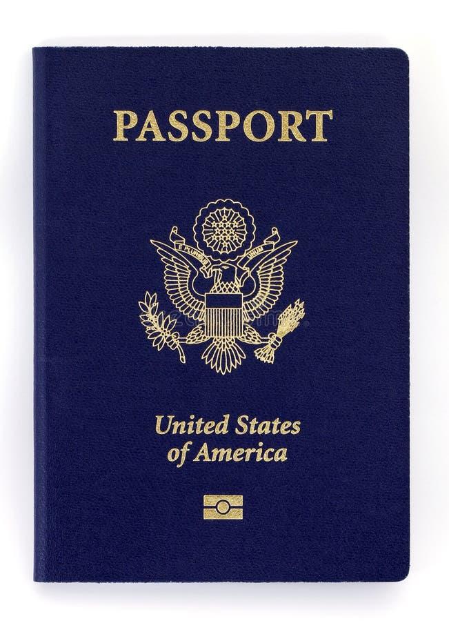 νέο διαβατήριο στοκ φωτογραφία με δικαίωμα ελεύθερης χρήσης
