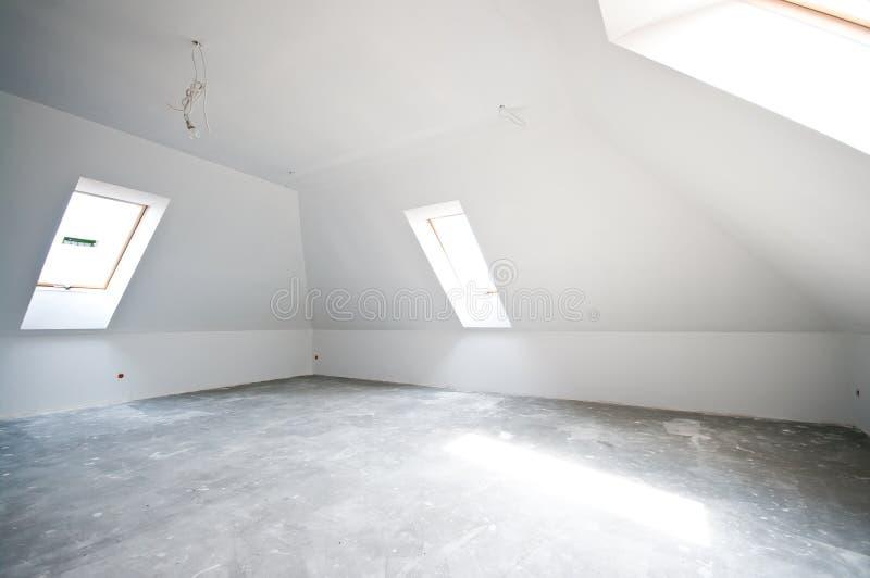νέο δωμάτιο ατελές στοκ εικόνα με δικαίωμα ελεύθερης χρήσης