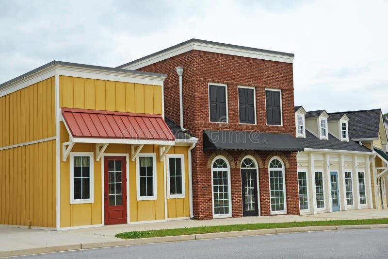 Νέο εμπορικό κτήριο στοκ φωτογραφίες