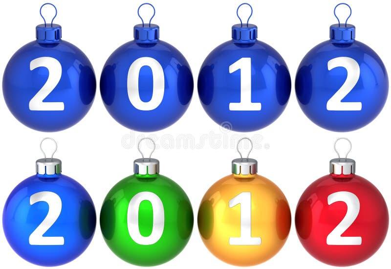 νέο καθορισμένο έτος Χρισ& απεικόνιση αποθεμάτων