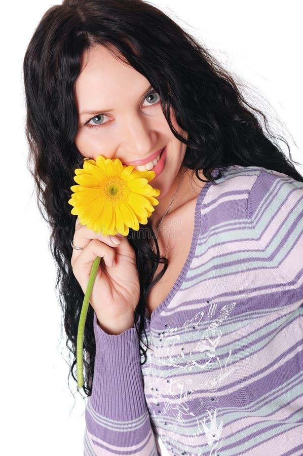 Νέο καλό brunette στοκ φωτογραφία με δικαίωμα ελεύθερης χρήσης