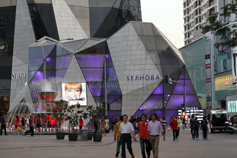 νέο κατάστημα sephora της Κουάλ&alph στοκ φωτογραφία