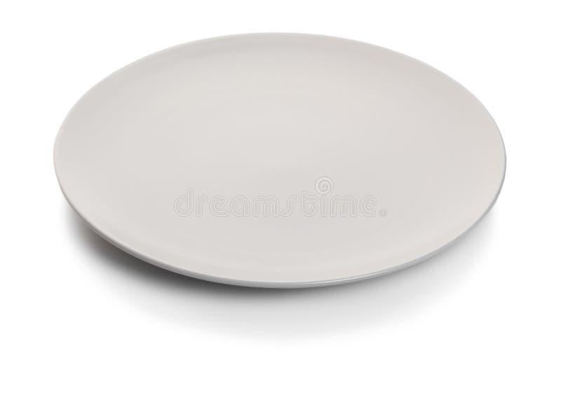 Νέο κενό πιάτο στοκ φωτογραφίες με δικαίωμα ελεύθερης χρήσης