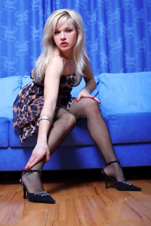 Νέο κορίτσι blondie στοκ φωτογραφία