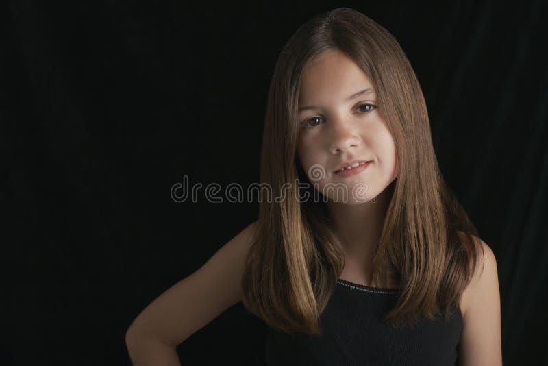 Νέο κορίτσι Brunette στοκ εικόνες