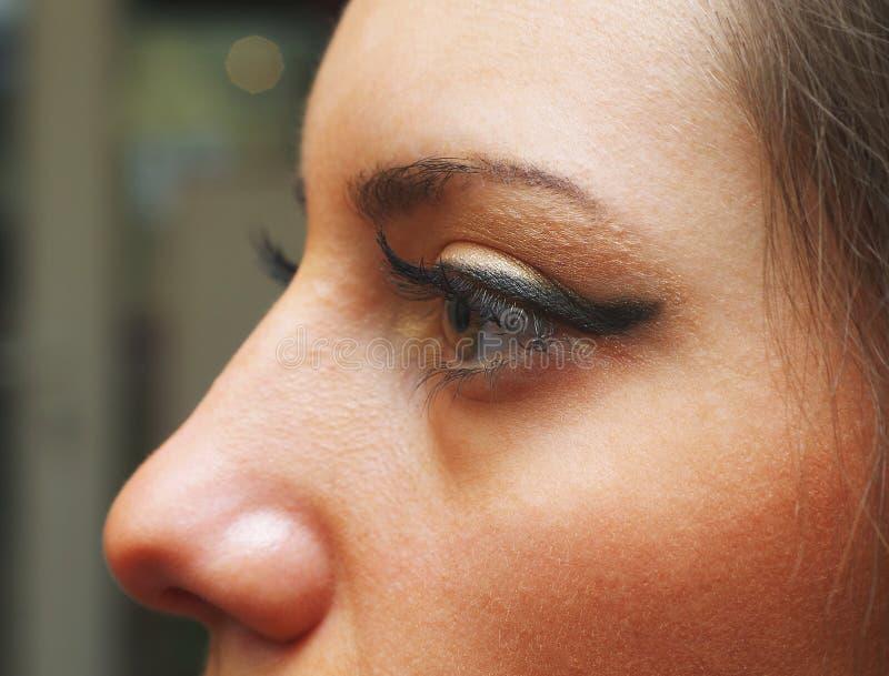 Νέο μάτι γυναικών στοκ φωτογραφία με δικαίωμα ελεύθερης χρήσης